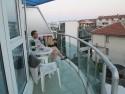 Výhled z penzionu Plamar